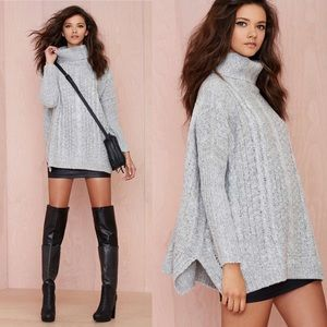 Women's Nasty Gal Oversized Sweater on Poshmark
